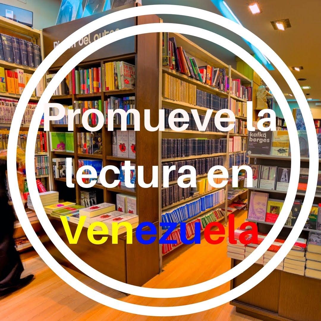 Promueve la lectura en Venezuela