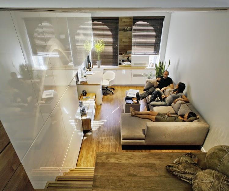 Дизайн маленькой квартиры в нью йорке