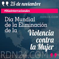 25 de noviembre - Día Internacional de la Eliminación de la Violencia contra la Mujer #DíasInternacionales
