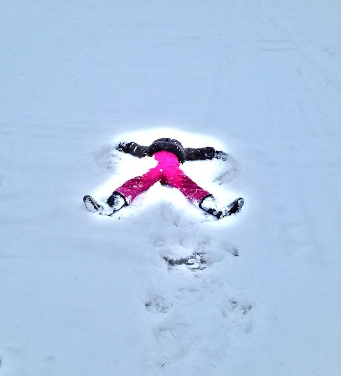 Biba snow angel