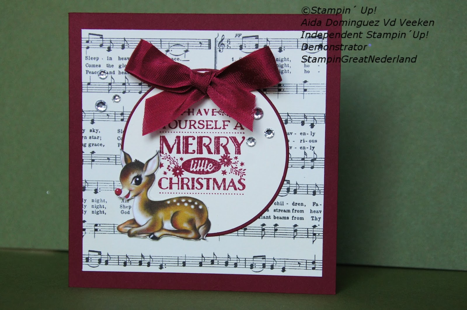 StampinGreatNederland: Have Yourself a Merry Little Christmas