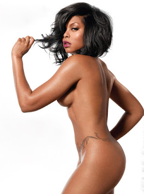 Black Women Taraji Henson Naked for PETA Subject: Father Daughter