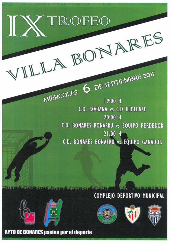 IX TROFEO VILLA DE BONARES
