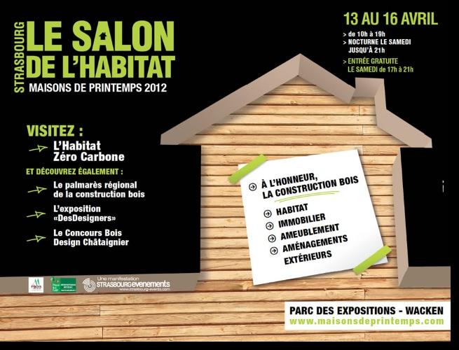 maison de printemps 2012 le salon de l 39 habitat de strasbourg est ouvert novoeco. Black Bedroom Furniture Sets. Home Design Ideas