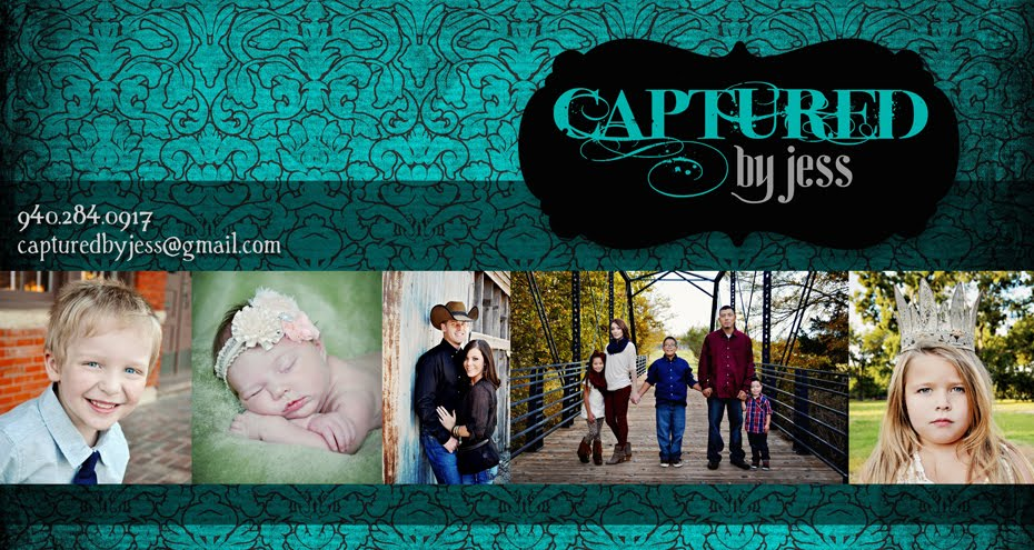 Captured by Jess, North Texas Photographer serving Gainesville, Sherman, Denton Area