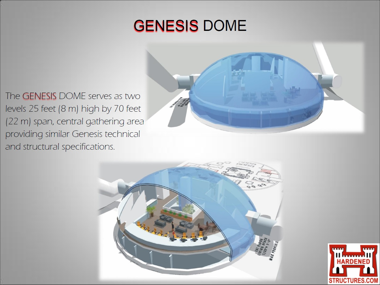 Hardened Structures Underground Genesis Series Dome And