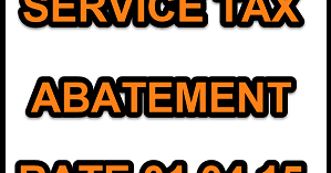 service tax abatement chart 2016 17 pdf