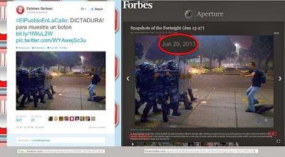 Venezuela: coup de projecteur sur les zones d´ombre médiatiques Brasil+vza