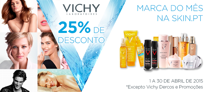 VICHY 25% Desconto