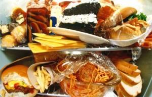Самые жирные продукты питания