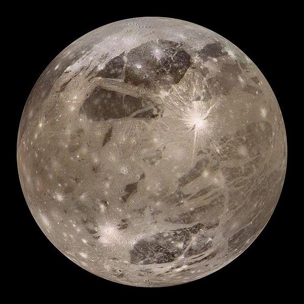 Ganimedes Jupiter