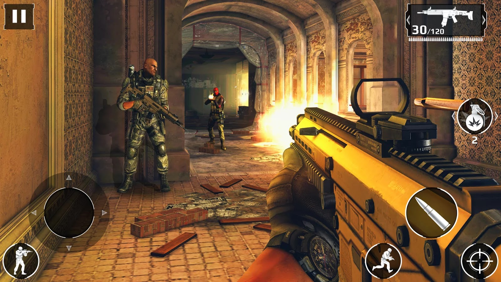 Modern Combat 5: Blackout v1.0.1c Mod [Unlimited Bullets]