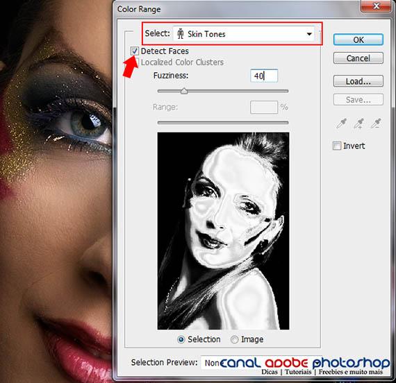 Color Range - Skin Tones - Photoshop CS6