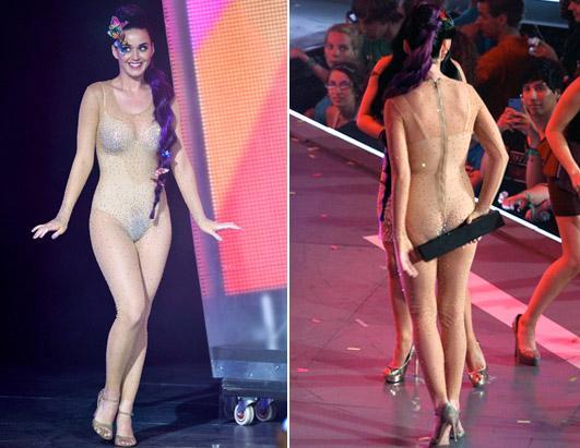 Katy Perry Wardrobe Malfunction