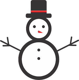 Snowman illustrator for Christmas holidays