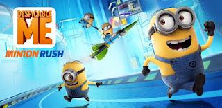 Lari Bersama di Game Minion Rush