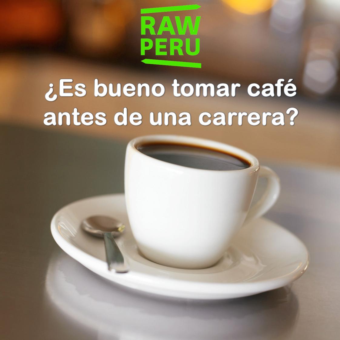 ¿Es bueno tomar café antes de la carrera? - RAW PERU