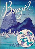 Cartaz Aquarela do Brasil