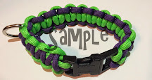 Pudin's Paw--Custom Made Paracord Leashes and Collars