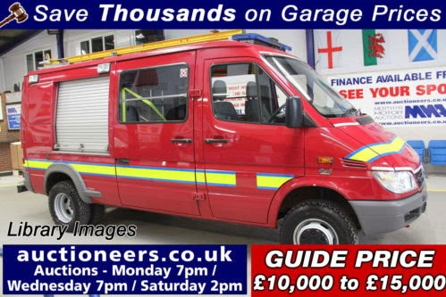 Grahams Fire Page Ex West Yorkshire Mercedes Sprinters For Sale