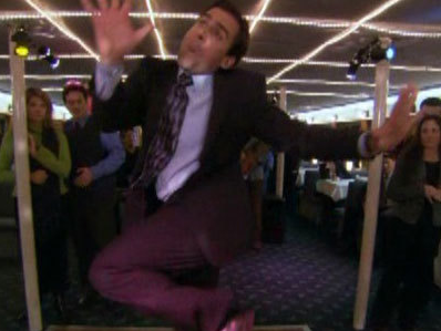 Michael Scott dance
