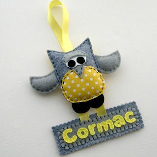Owl Name Hangers