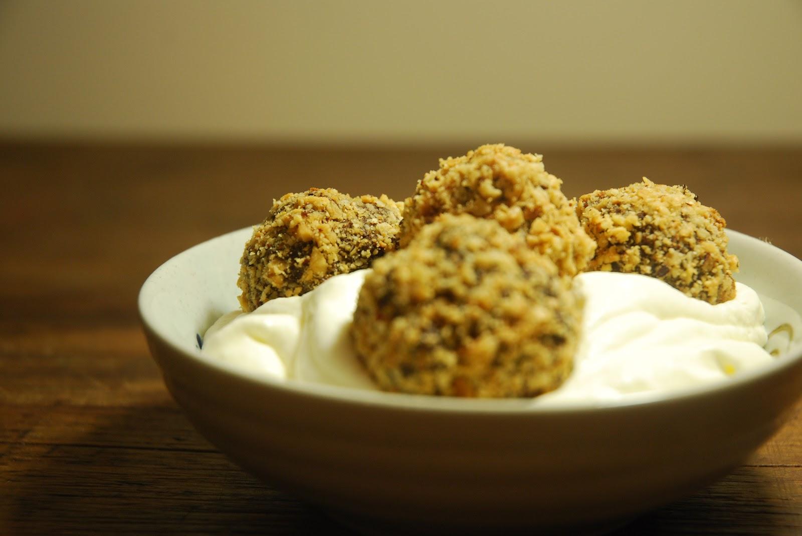 Hazelnut Chocolate Truffles + Frangelico Whipped Cream ...