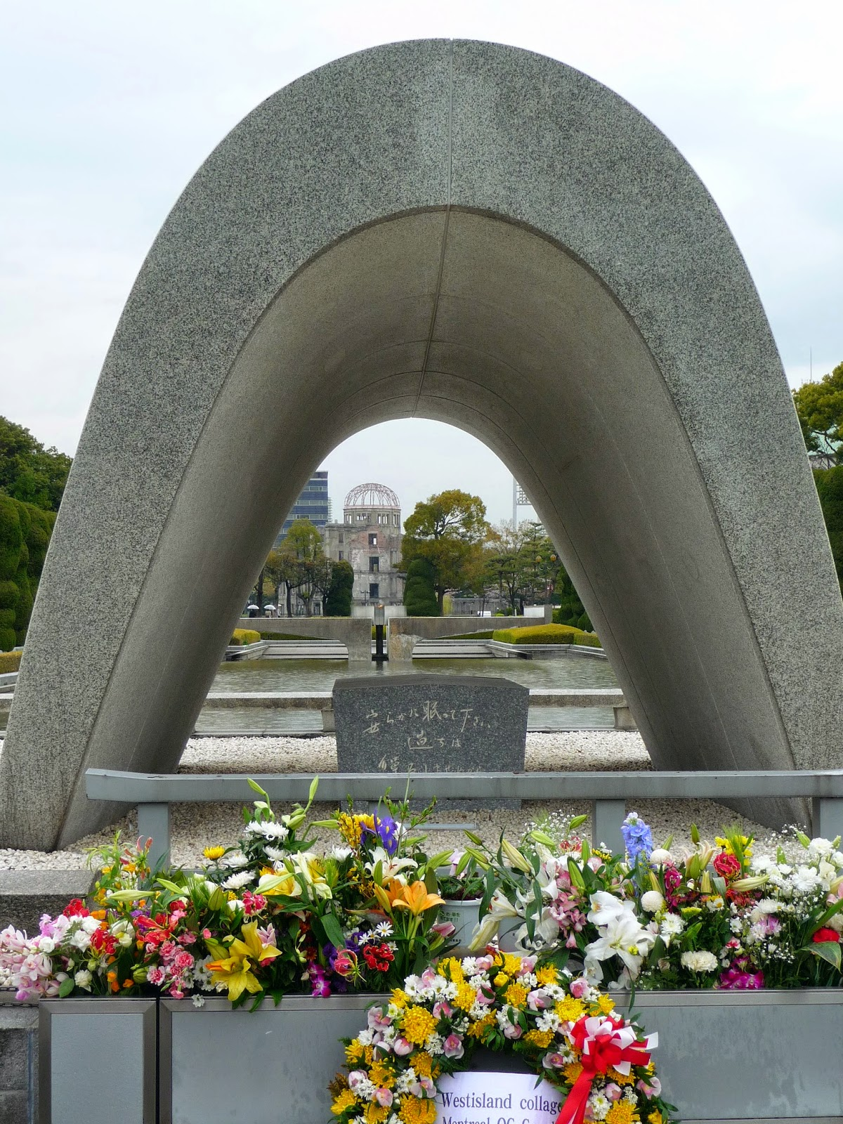 5 Years Ago in Hiroshima - Hiroshima Peace Memorial Park
