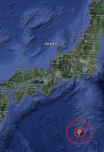 Izu islands, japan region earthquake 2013 April 21