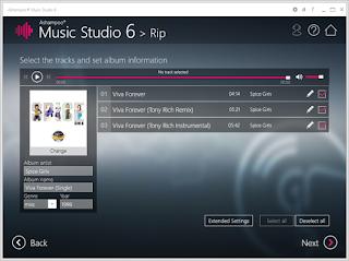 Ashampoo Music Studio 6.0.1.3 Full Version Terbaru