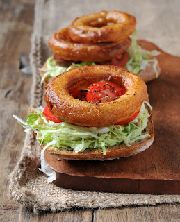 Onion Ring Ranchocado from Vegan Sandwiches Save the Day