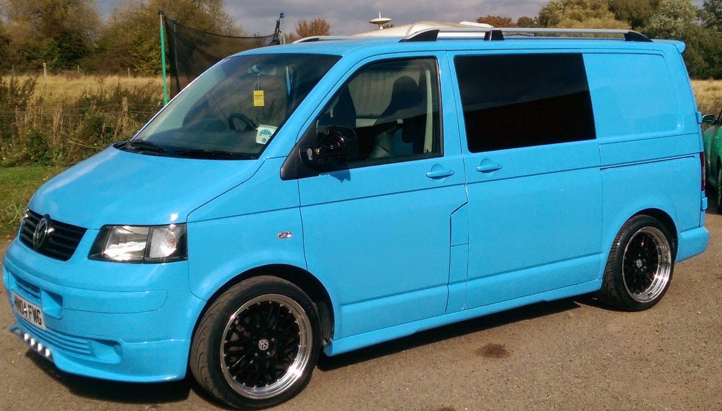 2004 VWT5 nearside view