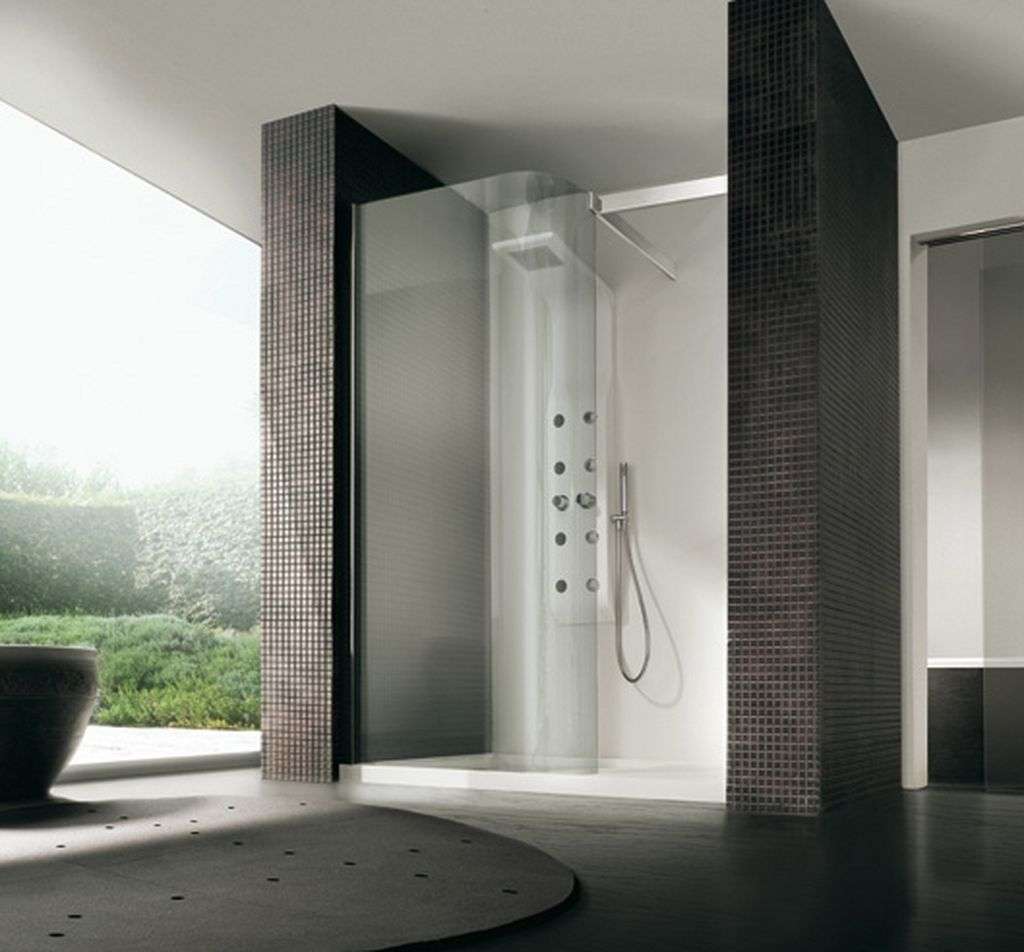 Shower cabin designs interior design and deco for Bathtub and shower designs