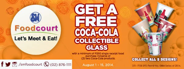 Get a Free Coca-Cola Collectible Glass