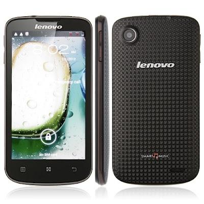 Lenovo A800 Design
