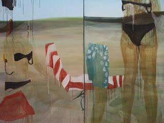 brelus artiste peintre designer l 39 exposition marc desgrandchamps au carr sainte anne. Black Bedroom Furniture Sets. Home Design Ideas