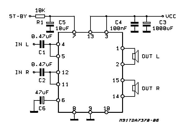 Car Audio Schematic Diagram in addition Bootstrap Capacitor Audio as well Car Audio Schematic Diagram moreover Home Audio  lifier Diagram besides Audio Bootstrap Capacitor. on tda2003 car lifier 2