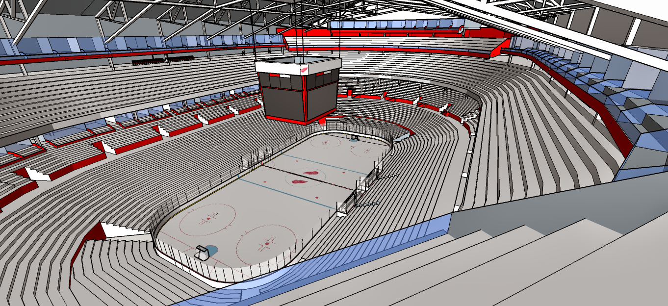 New Detroit Red Wings Arena 6