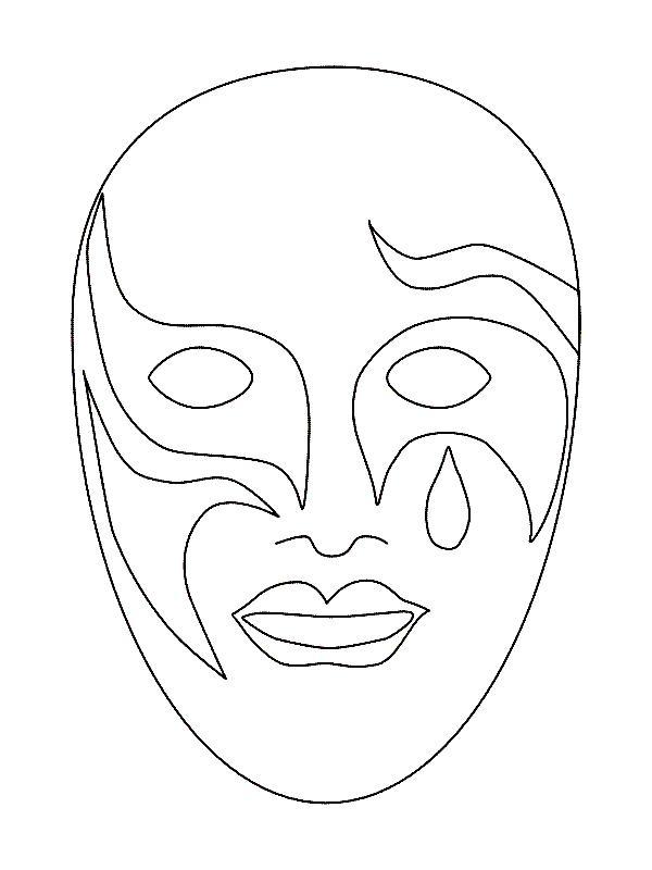 Máscaras de carnaval - Sejam criativos...