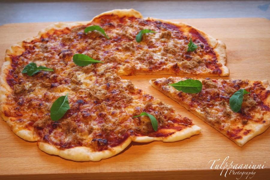 rapea pizzapohja pellillinen