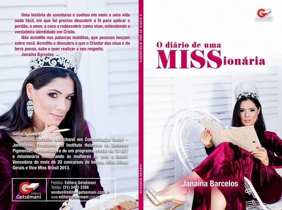 """Será lançado nesta quinta-feira o tão esperado livro da miss Minas Gerais intitulado """"O Diário de u"""