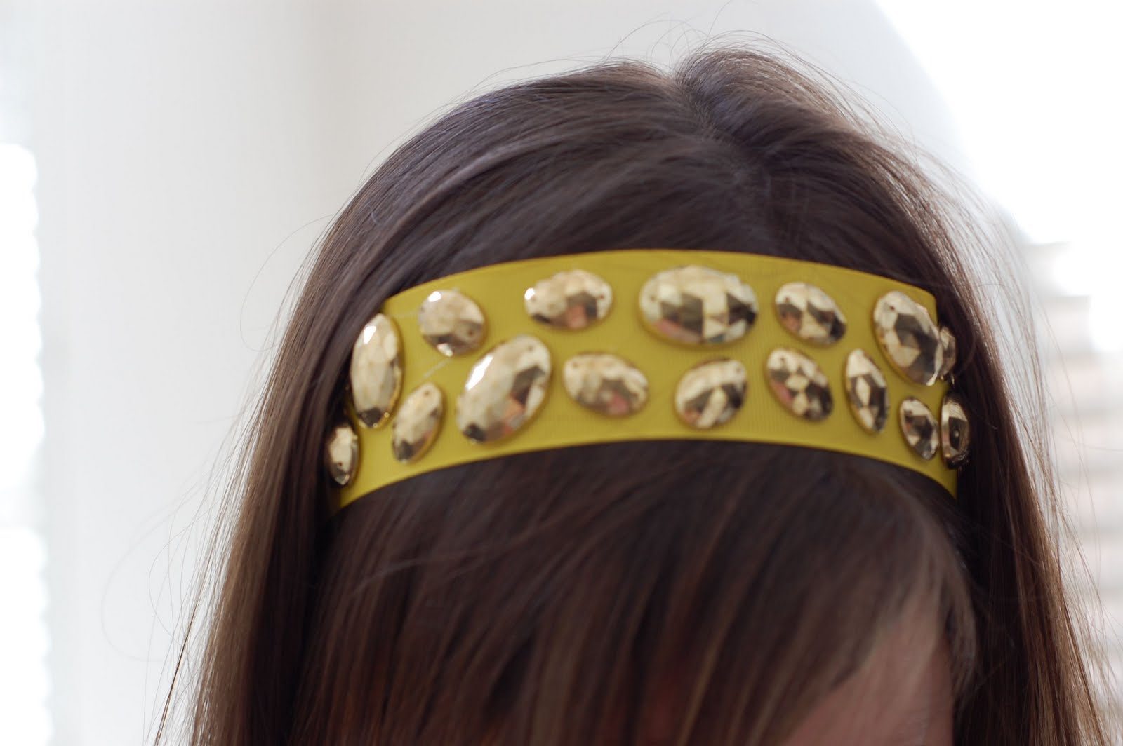 Just B: B Innovative: DIY Crystal headband (& belt) Quailman Belt Headband