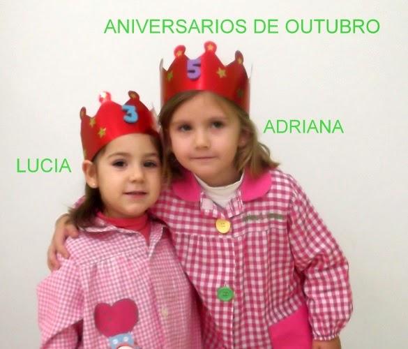 ANIVERSARIOS DE OUTUBRO 2014