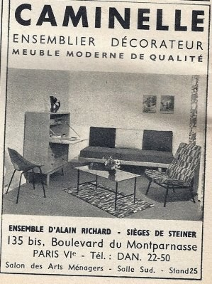 Alain Richard x Pierre Guariche