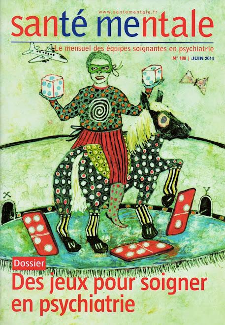Illustrations Une + ensemble de la revue Santé Mentale n°189, juin 2014