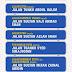 Nama Baru Lapan 8 Jalan Utama di Kuala Lumpur Mulai 26 November 2014