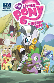 MLP Friends Forever #21 Comic