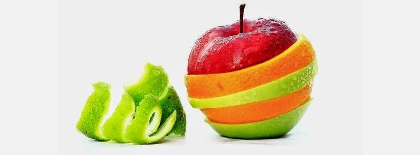Une belle couverture facebook pomme