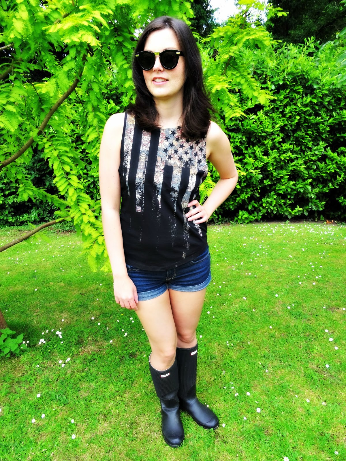 Glastonbury festival outfit