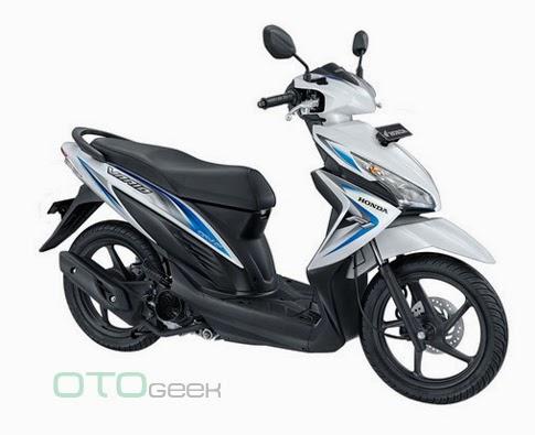 Honda New Vario 110 Fi Putih Biru
